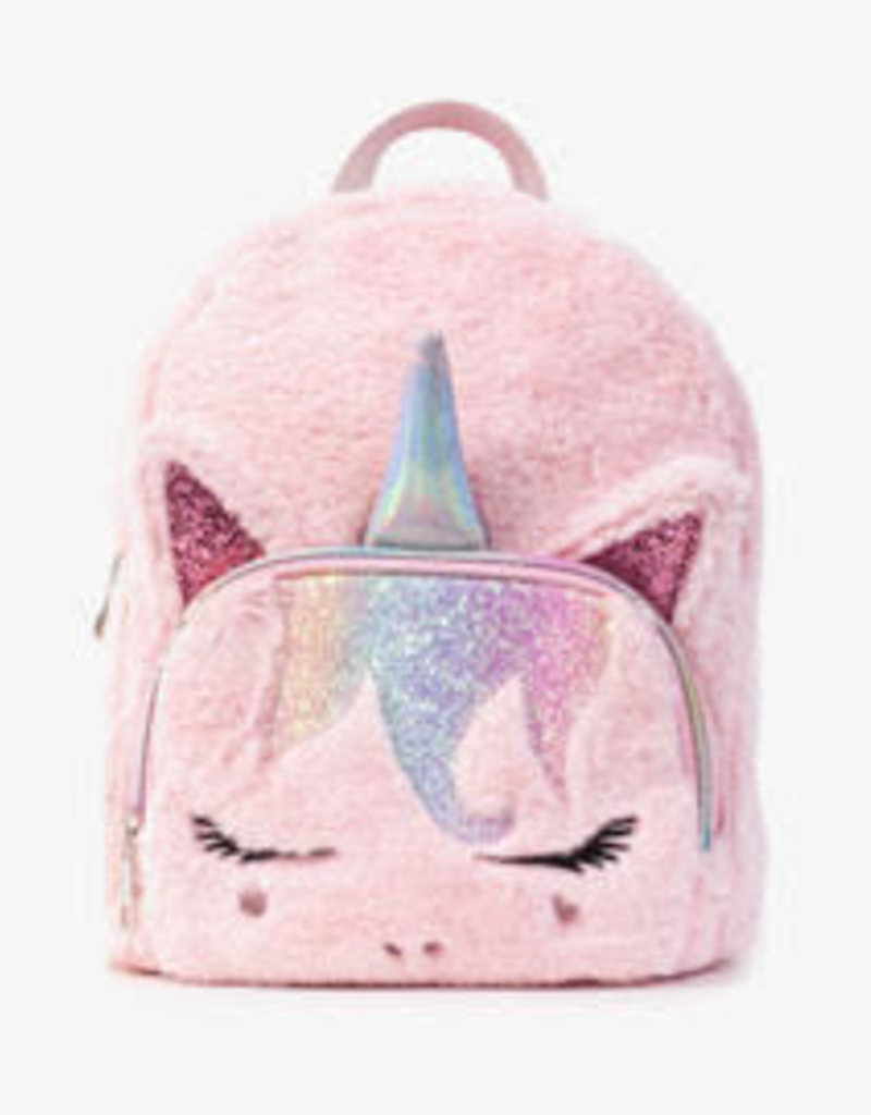 OMG Accessories OMG Rainbow Unicorn Mini Backpack