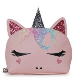 OMG Accessories OMG Unicorn Critter Cosmetic Bag
