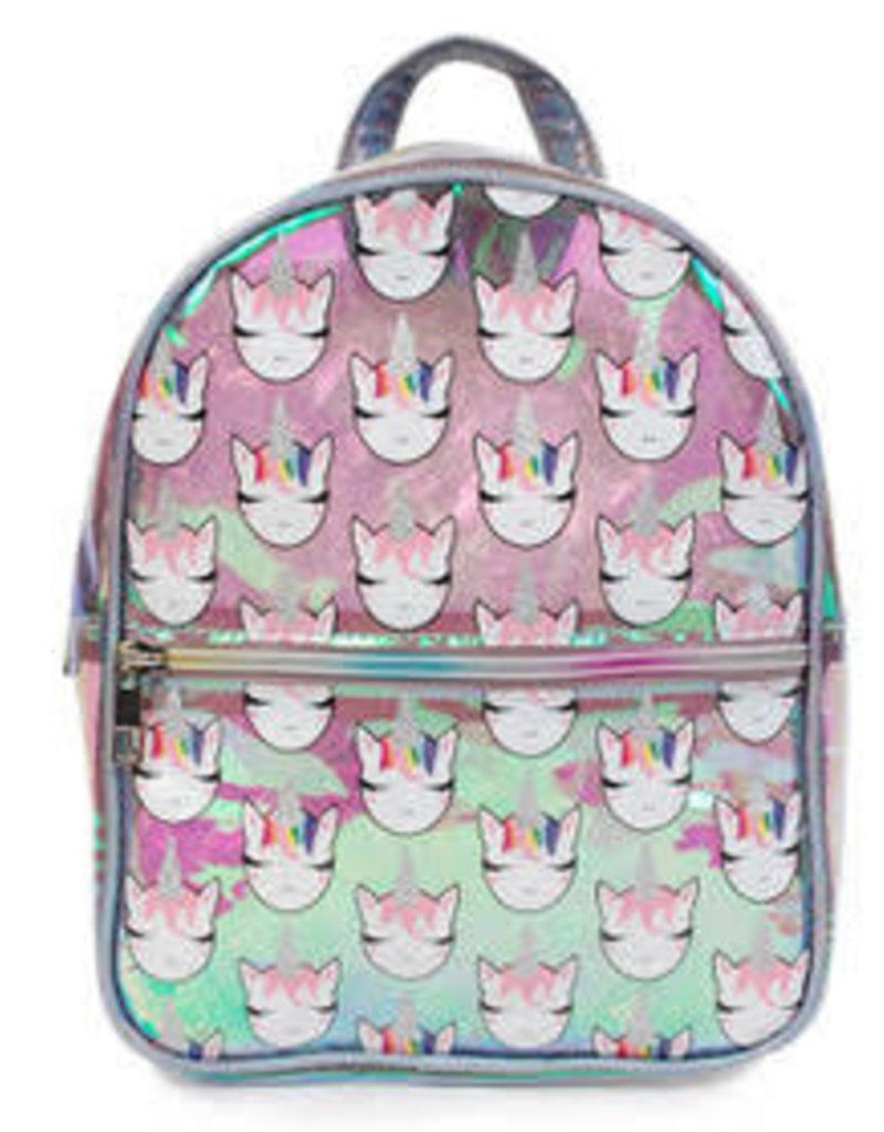 OMG Accessories OMG Unicorn Print Mini Backpack
