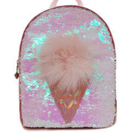 OMG Accessories OMG Sequin Icecream Mini Backpack