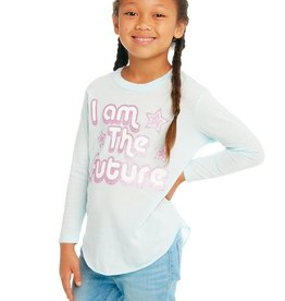 Chaser Chaser Girls I Am The Future LS Tee