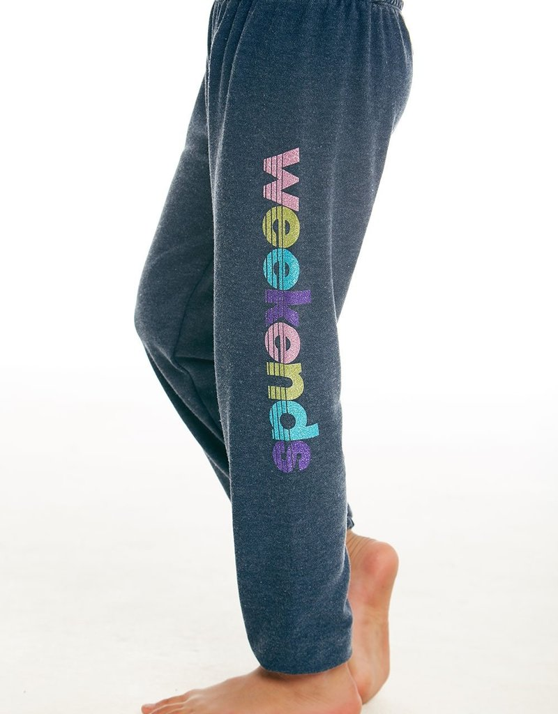 Chaser Chaser Girls Cozy Knit Weekends Lounge Pants