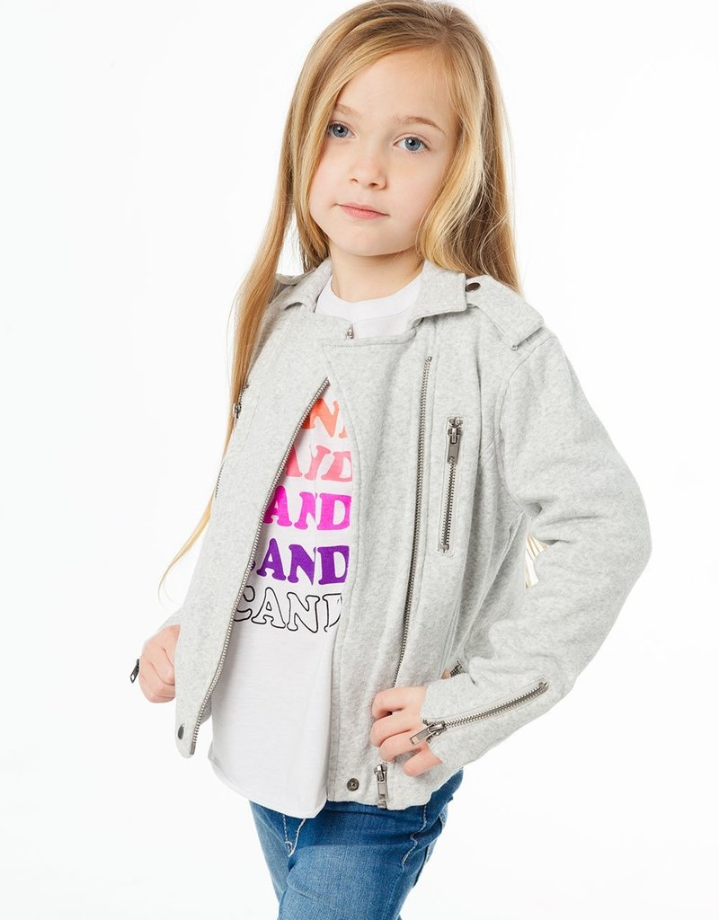 Chaser Chaser Girls Moto Jacket w Zippers