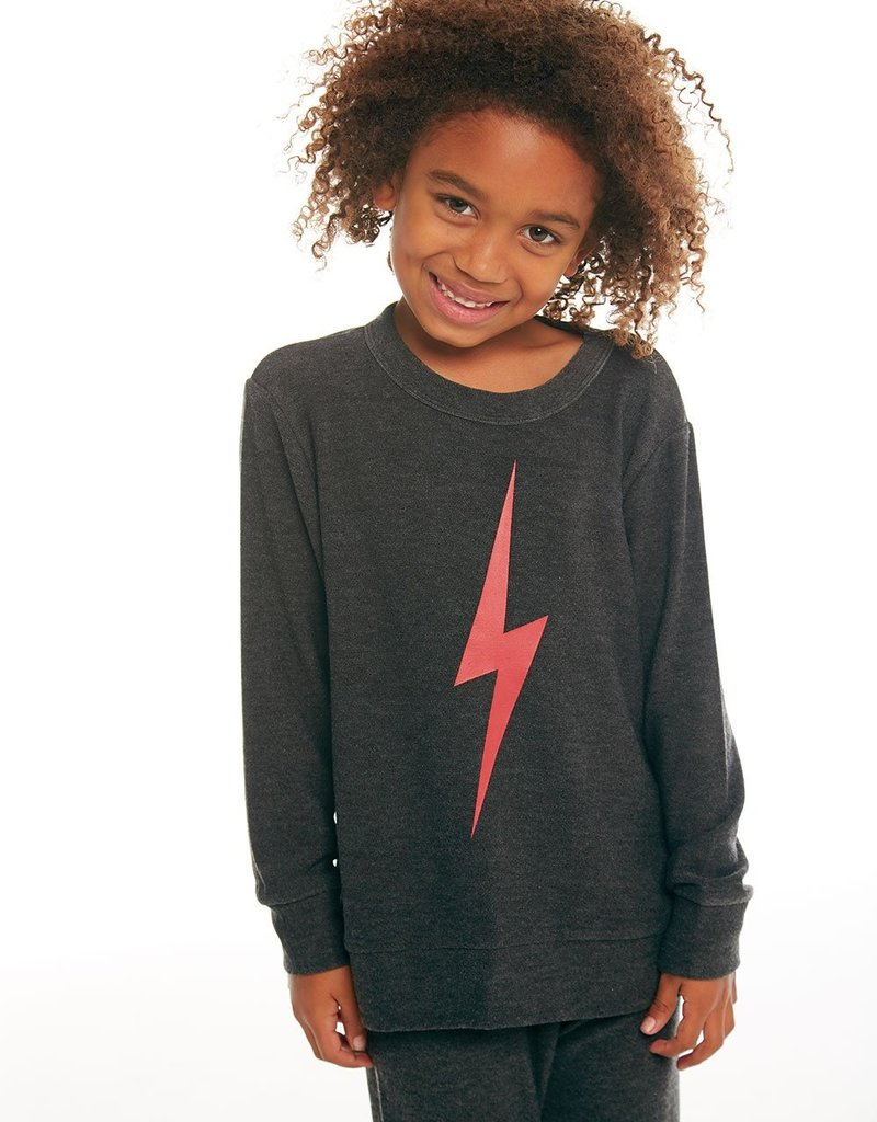 Chaser Chaser Boys Cozy Bolt Sweater