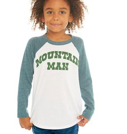 Chaser Chaser Boys Mountain Man Baseball Tee