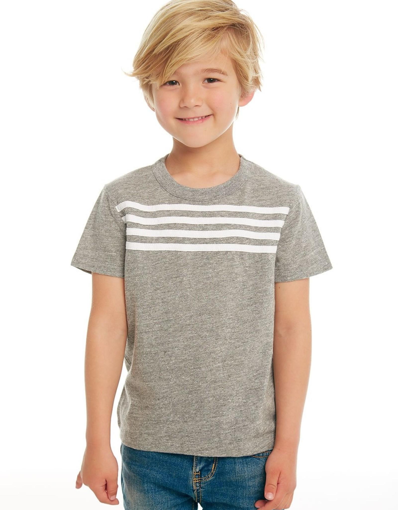 Chaser Chaser Boys 4 Stripe Tee