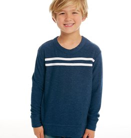 Chaser Chaser Boys 2 Stripe Cozy Knit Pullover