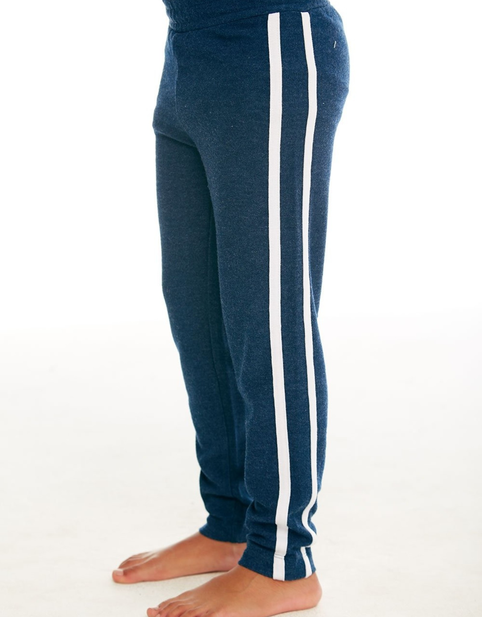 Chaser Chaser Boys Cozy Knit Striped Track Pants