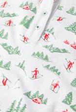 Petidoux Petidoux Vintage Skier Kid's L/S Pajamas PREORDER
