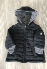 Petit Bateau Petit Bateau Baby Boy Hooded Zip Up Jacket