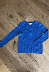 Autumn Cashmere Autumn Cashmere Thermal Henley with Coverstitch