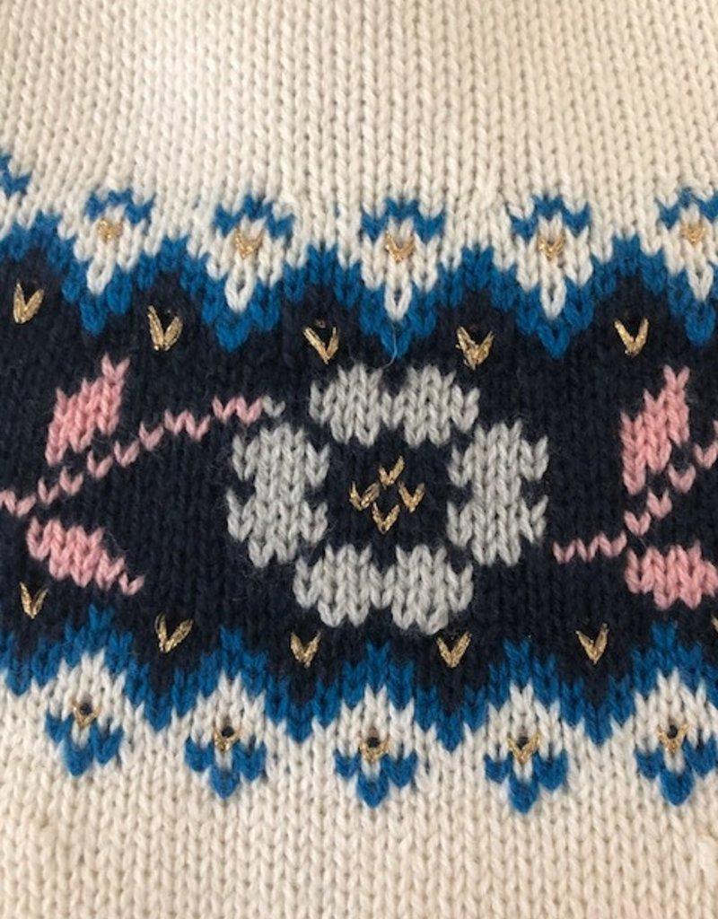 Petit Bateau Petit Bateau Girl Fair Isle Sweater