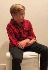 Scotch Shrunk Scotch Shrunk Boys Yarn Dyed Check Shirt