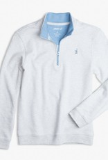 Johnnie-O Johnnie-O Watson 1/4 Zip Pullover Light Gray