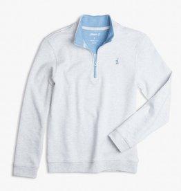 Johnnie-O Johnnie-O Watson 1/4 Zip Pullover Light Gray