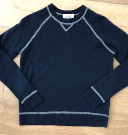 Autumn Cashmere Autumn Cashmere Sweatshirt with Coverstitch