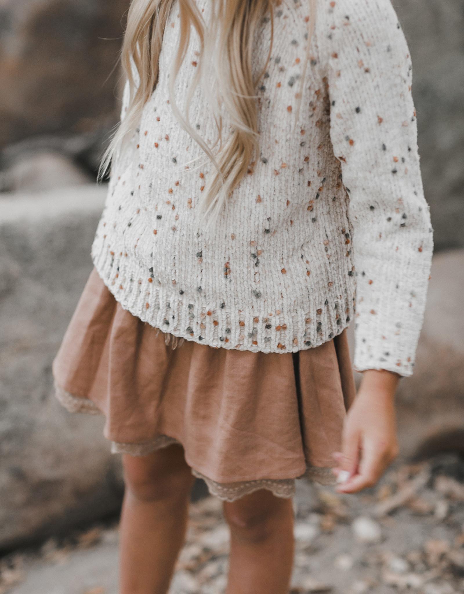 Rylee + Cru Rylee + Cru Pom Chenille Sweater