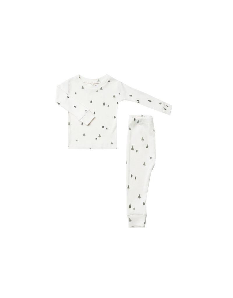 Rylee + Cru Rylee + Cru Trees Pajama Set