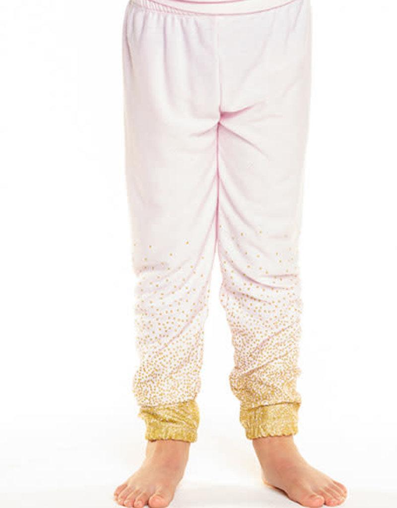 Chaser Chaser Girls Cozy Knit Glitter Pants
