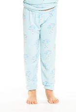 Chaser Chaser Girls Cozy Knit Happy Clouds Sweatpant