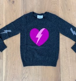 Autumn Cashmere Autumn Cashmere Lightning Heart Crew