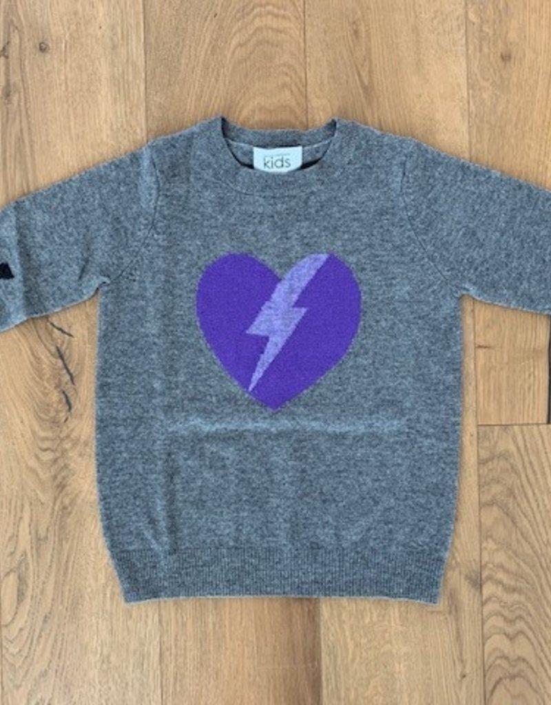 Autumn Cashmere Autumn Cashmere Lightning Heart Crew