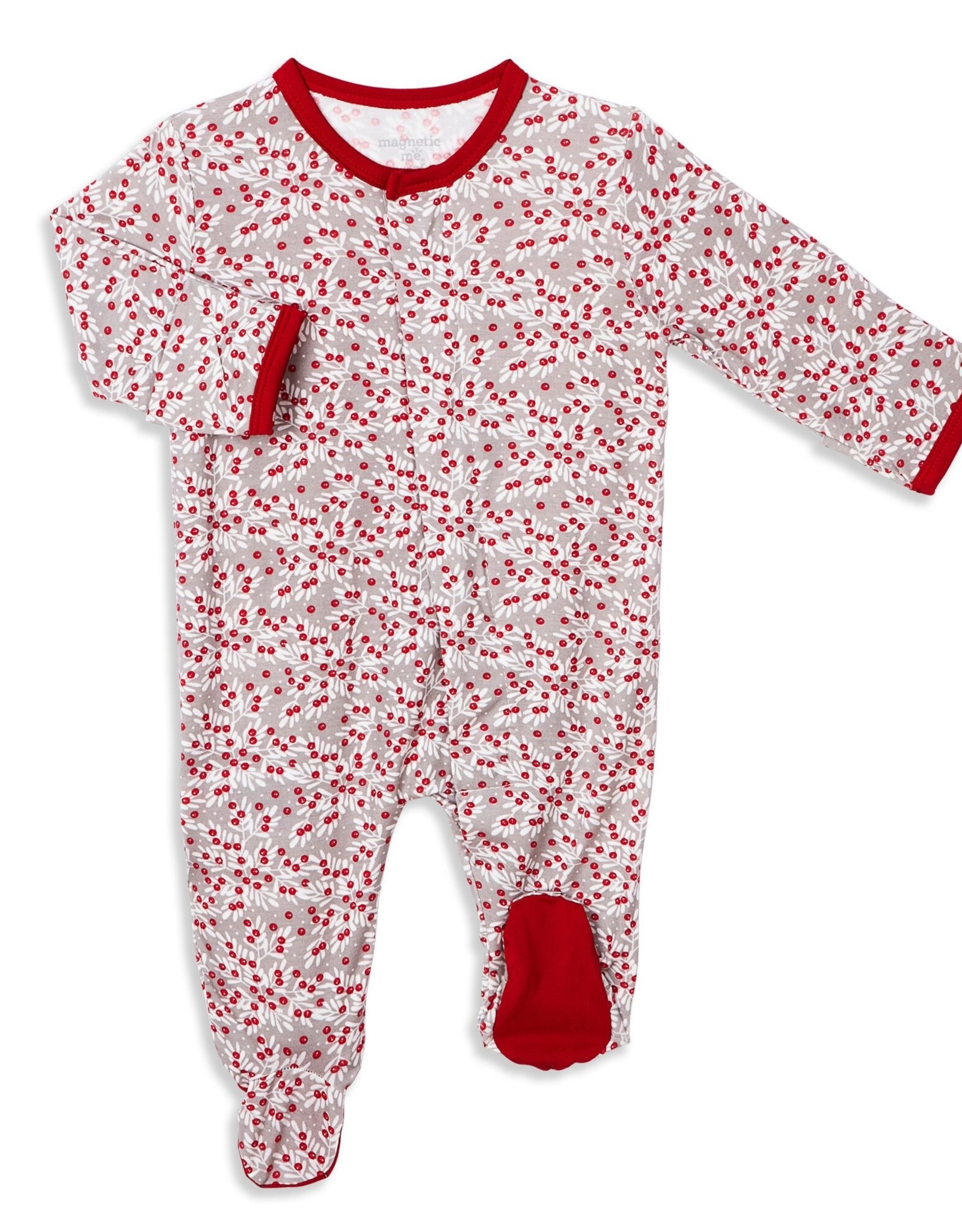 Magnetic Me Magnetic Me Magnetic Modal Footie, Berry Holly Day
