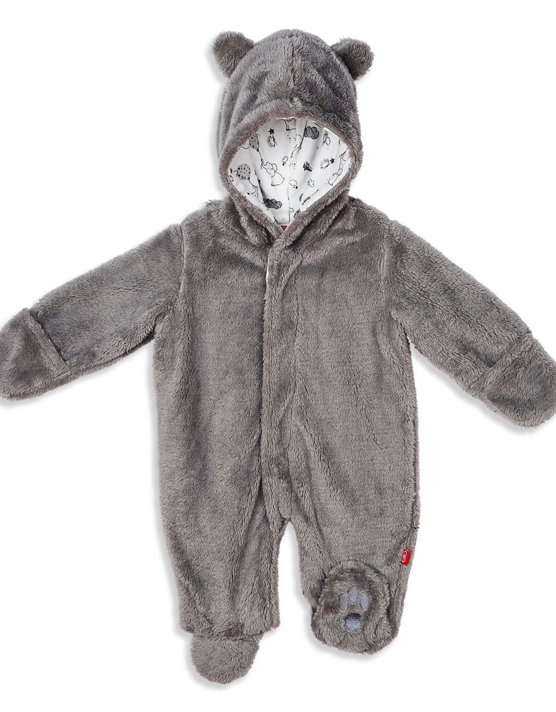 Magnetic Me Magnetic Me So Soft Minky Fleece Magnetic Pram, Drizzle