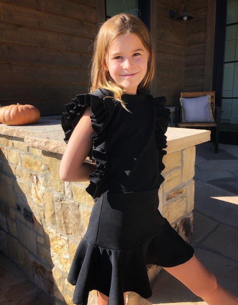 les tout petits Les Tout Petits Girls Ruffle Dress