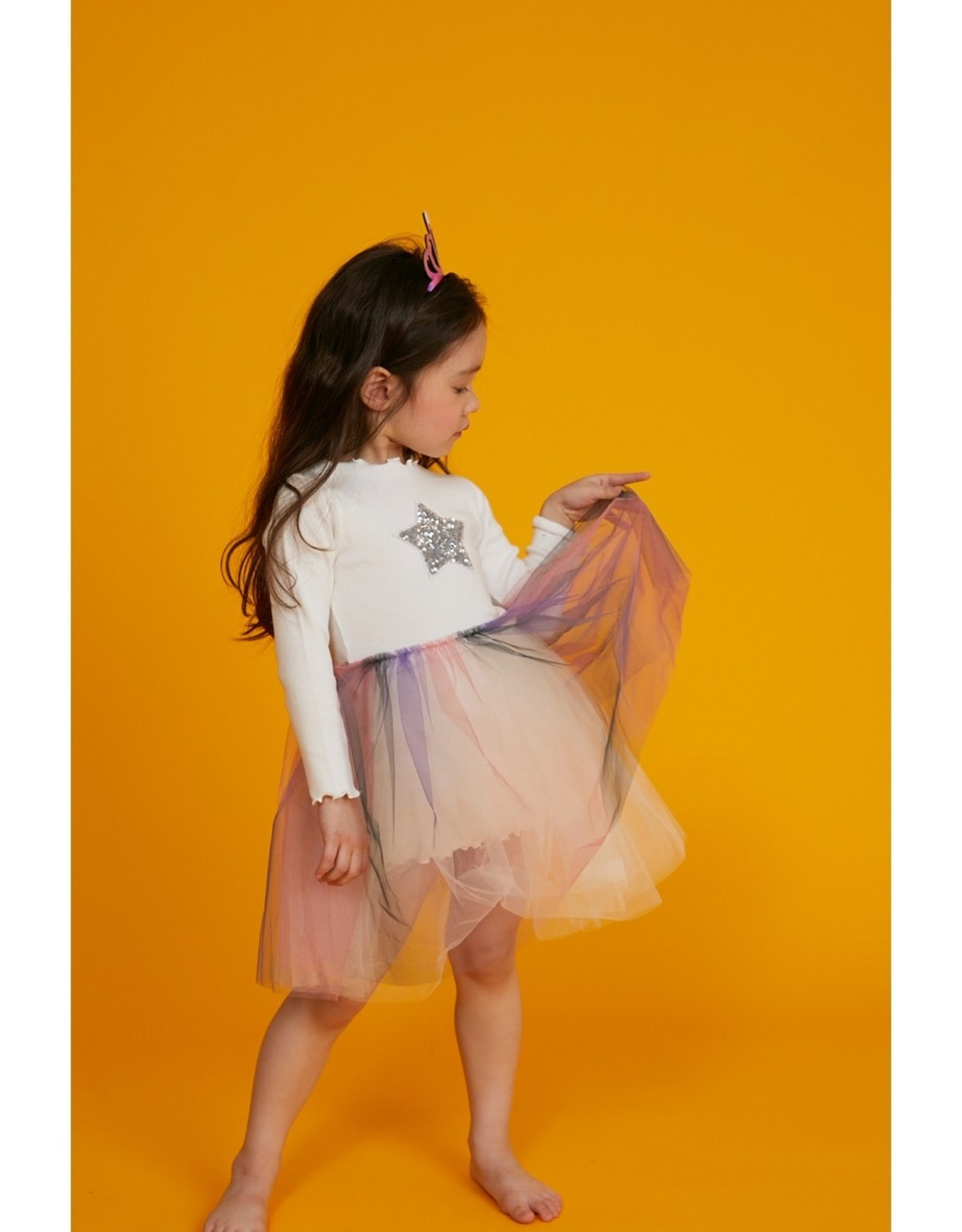 Petite Hailey Petite Hailey 3 Star Tutu Dress