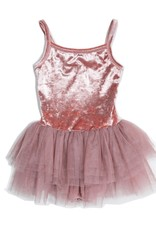 Petite Hailey Petite Hailey Velvet Leotard Tutu Dress