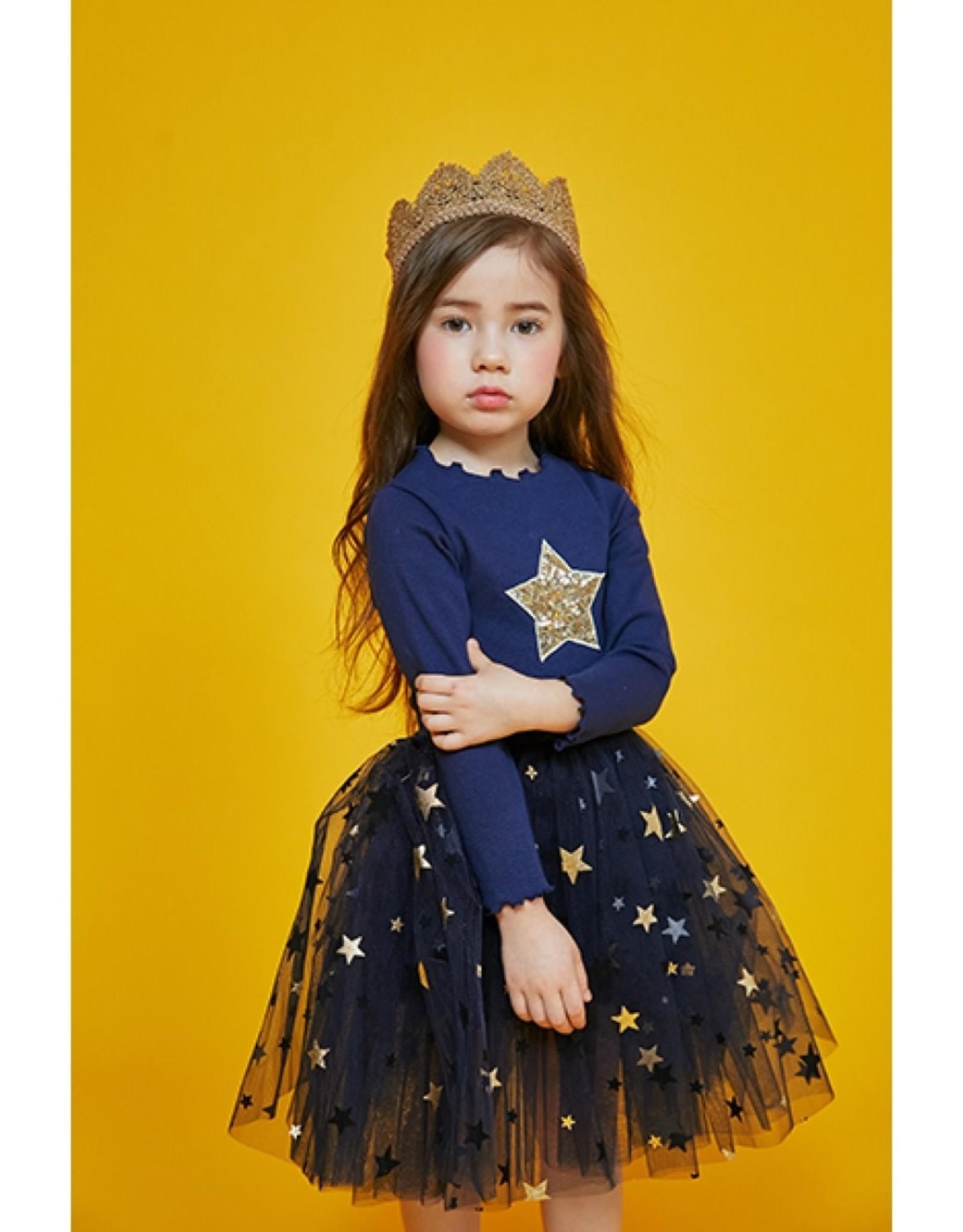 Petite Hailey Petite Hailey Mia 2 Star Tutu Dress