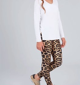 Terez Terez Leopard Goals Leggings