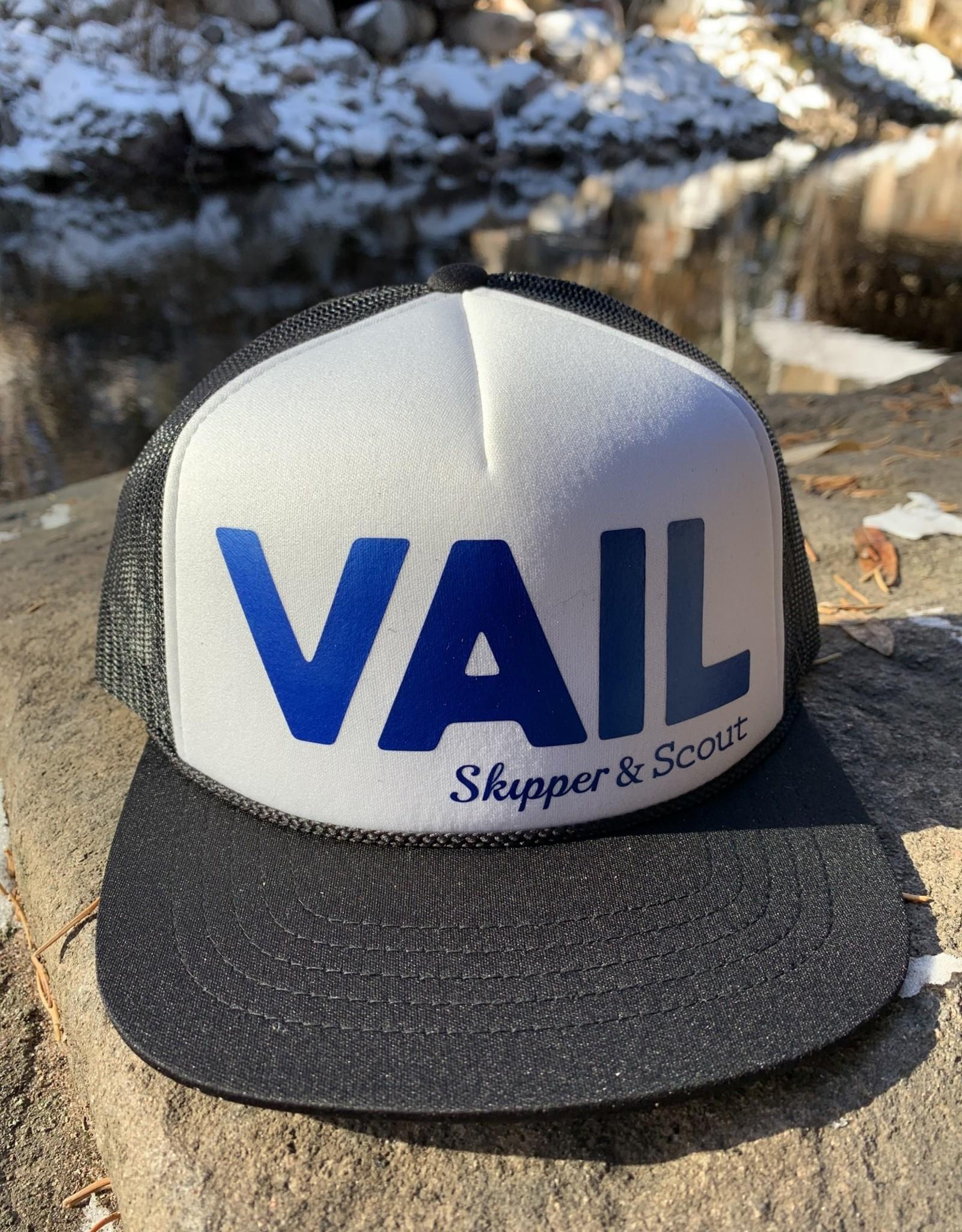 Ski Town All-Stars Ski Town All-Stars Youth Foam Trucker-VAIL