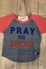 Aviator Nation Aviator Nation Baby Pray For Snow Raglan