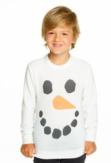 Chaser Chaser Snowman Knit Pullover