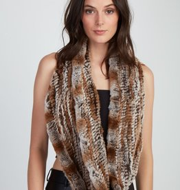 Jocelyn Jocelyn Rex Knitted Snow Top Scarf