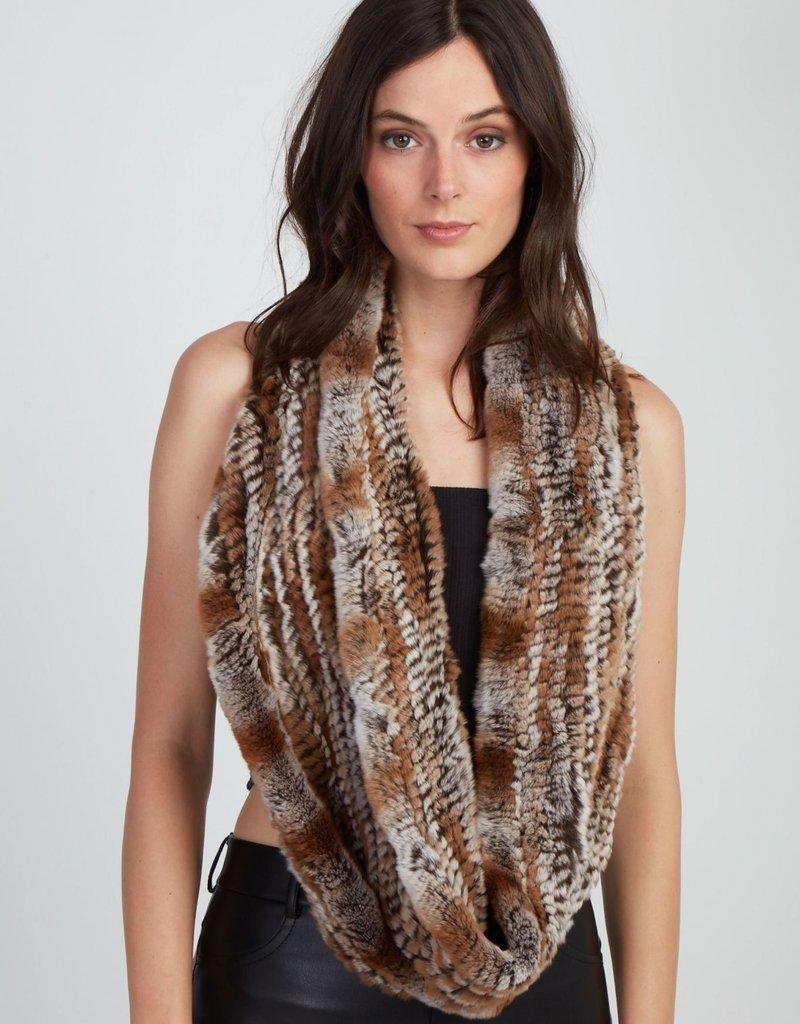 Jocelyn Jocelyn Rex Knitted Snow Top Scarf