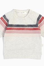 Miles Baby Miles Baby Girl 3 Stripe Sweatshirt