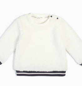 Miles Baby Miles Baby Girl Sherpa Crewneck
