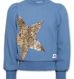 Ao76 Ao76 Crew Neck Puff Stars Sweater