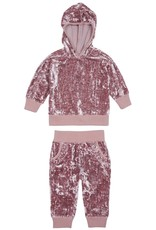 Habitual girl Habitual Girl Drew Crushed Velour Knit Set