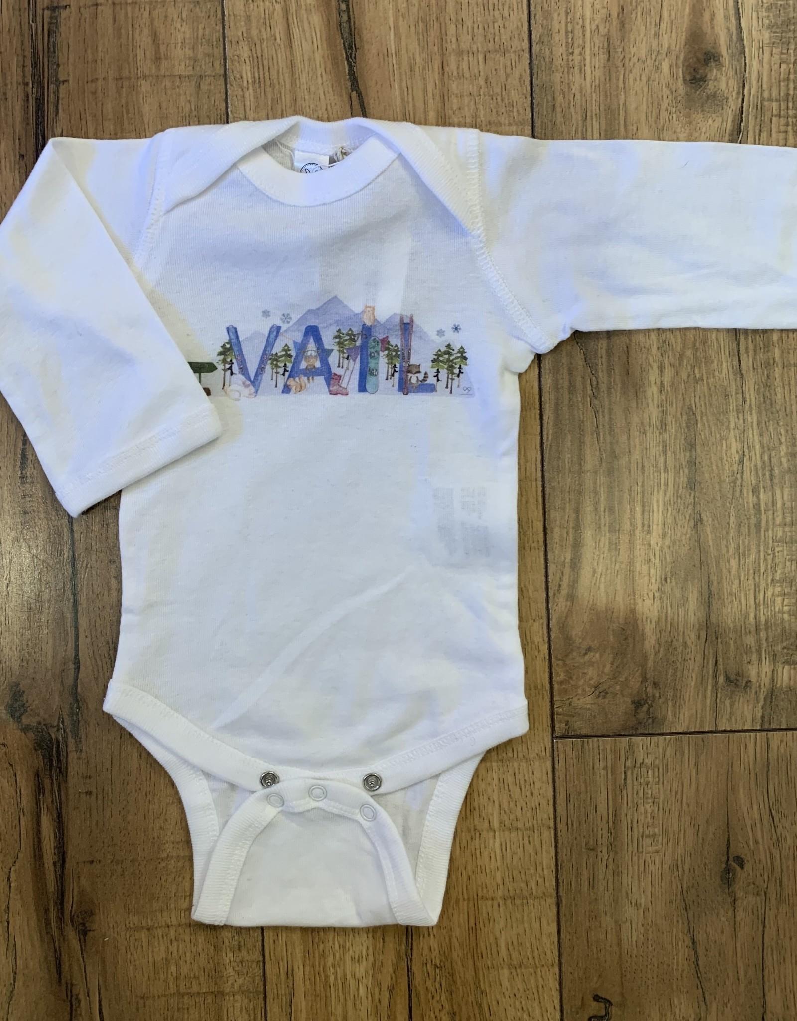 Skipper & Scout Skipper & Scout Vail LS Baby Rib Bodysuit