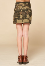 For All Seasons For All Seasons Camo Skirt w Front Zipper