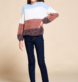 For All Seasons For All Seasons Striped Infinity Top