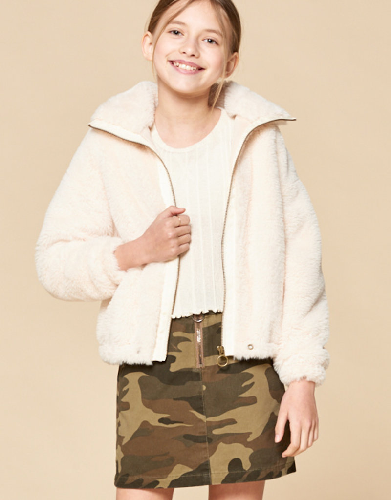 For All Seasons For All Seasons Faux Fur Jacket