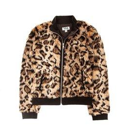 MIA NEW YORK MIA NEW YORK Leopard Fur Jacket