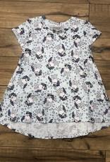 Esme Esme S/S Hi-Low Dress