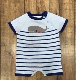 Angel Dear Angel Dear Baby Boy's Nautical Whale Shortie