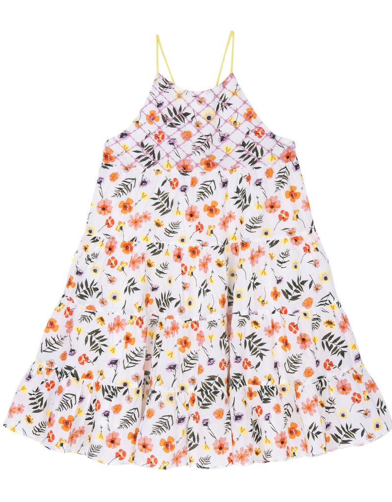 Velveteen Velveteen Lara Strappy Tiered Sun Dress